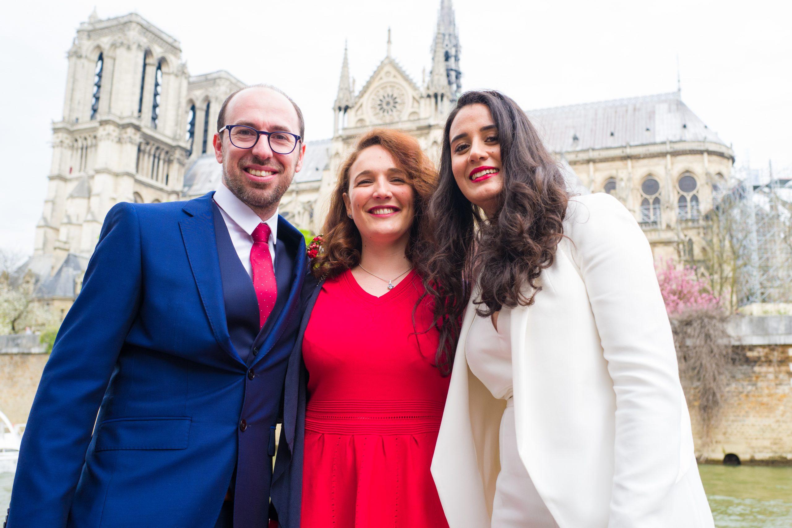 Photographie mariage - Séance couple - Photographe mariage - Paris- Montpellier - Nice - original - Notre dame