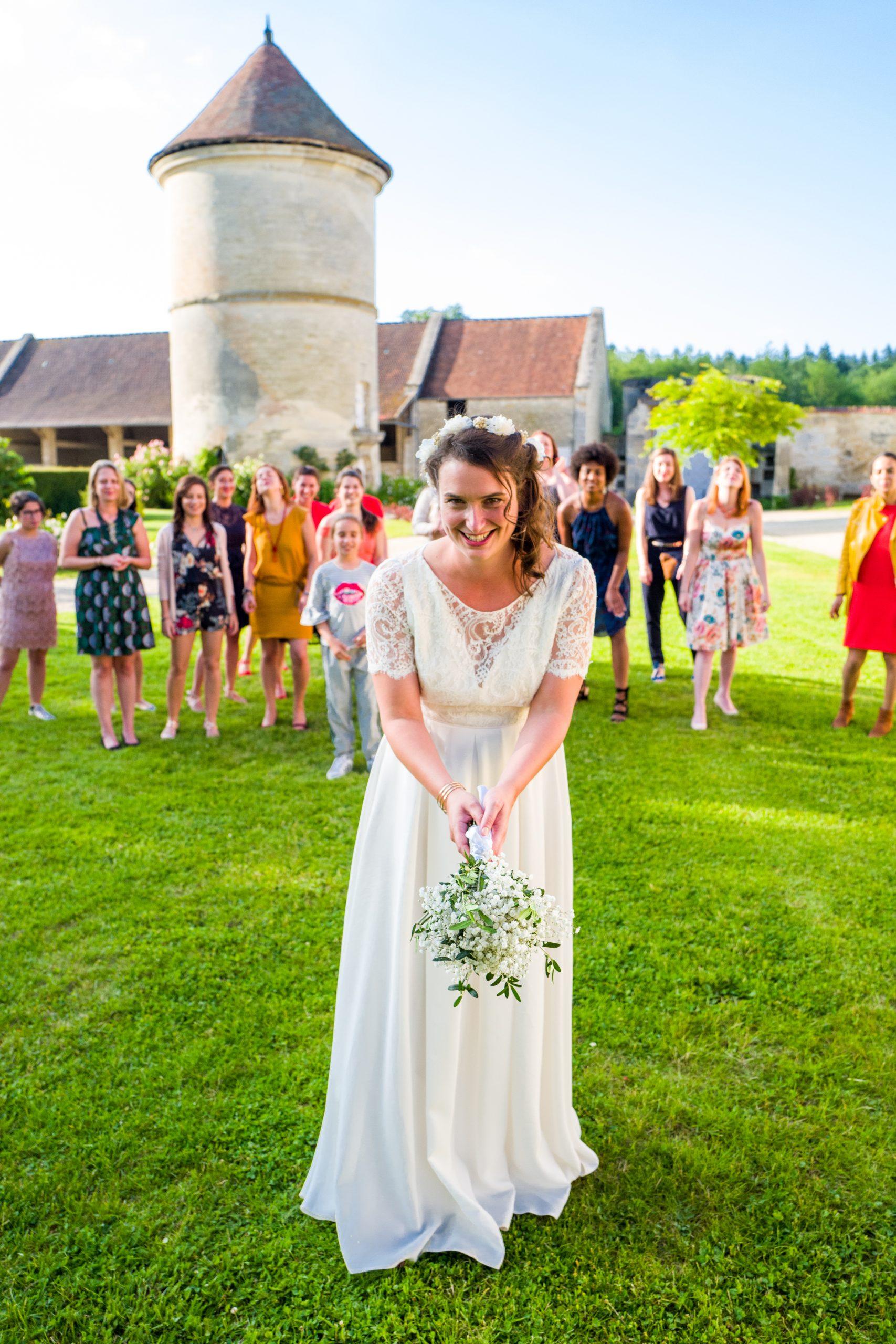 Photographe mariage - Paris - Montpellier - Nice - Mariage Hérault - Bouquet de la mariée