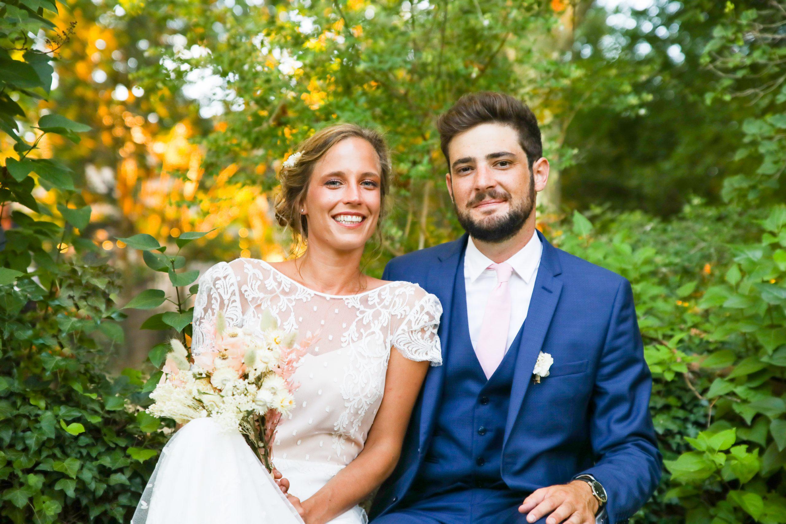 Photographie mariage - Séance couple - nature - Photographe mariage - Paris- Montpellier - Nice - original - couché du soleil - Mariage Hérault - Mariage Vignoble