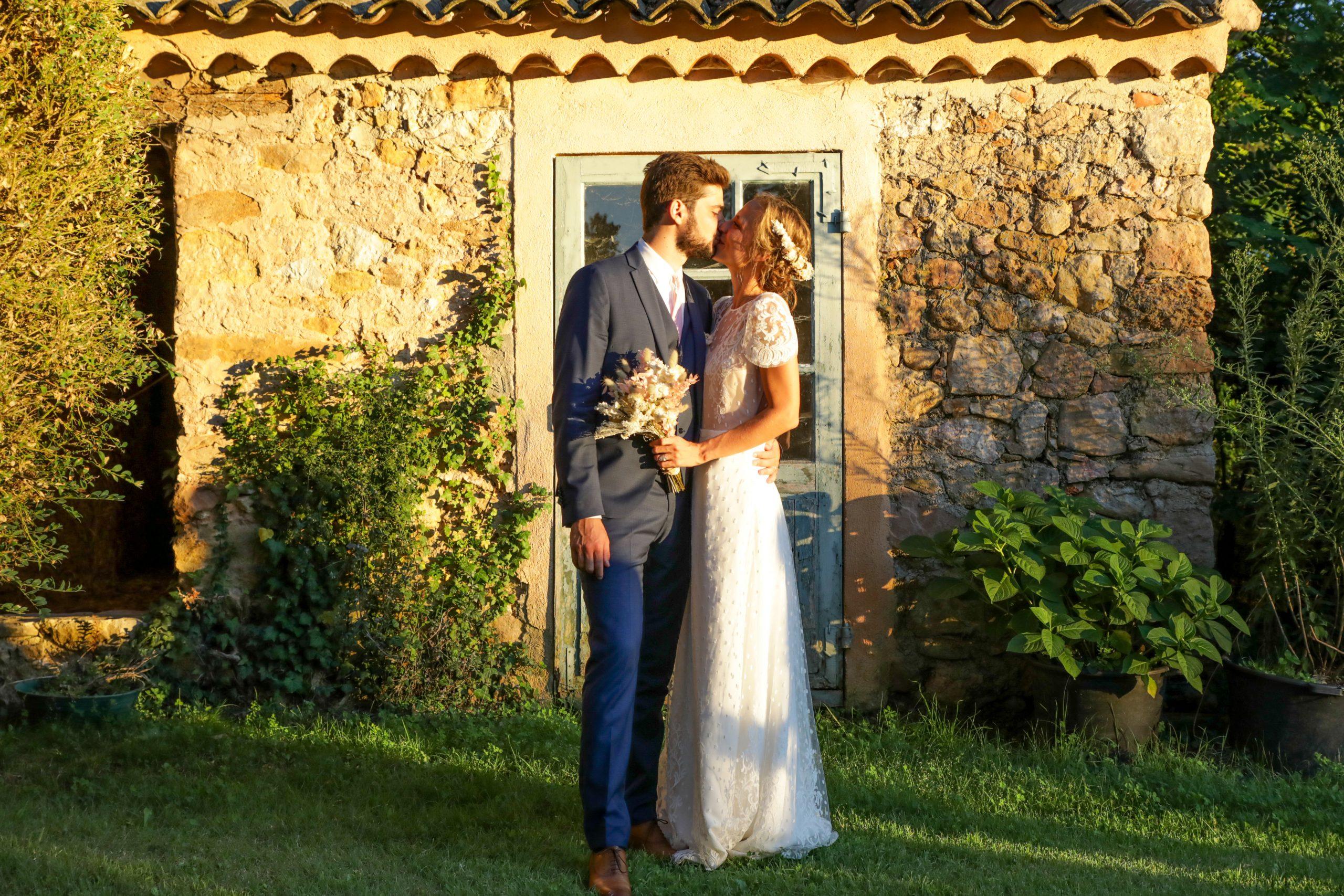 Photographie mariage - Séance couple - Photographe mariage - Paris- Montpellier - Nice - original - couché du soleil - Mariage Hérault