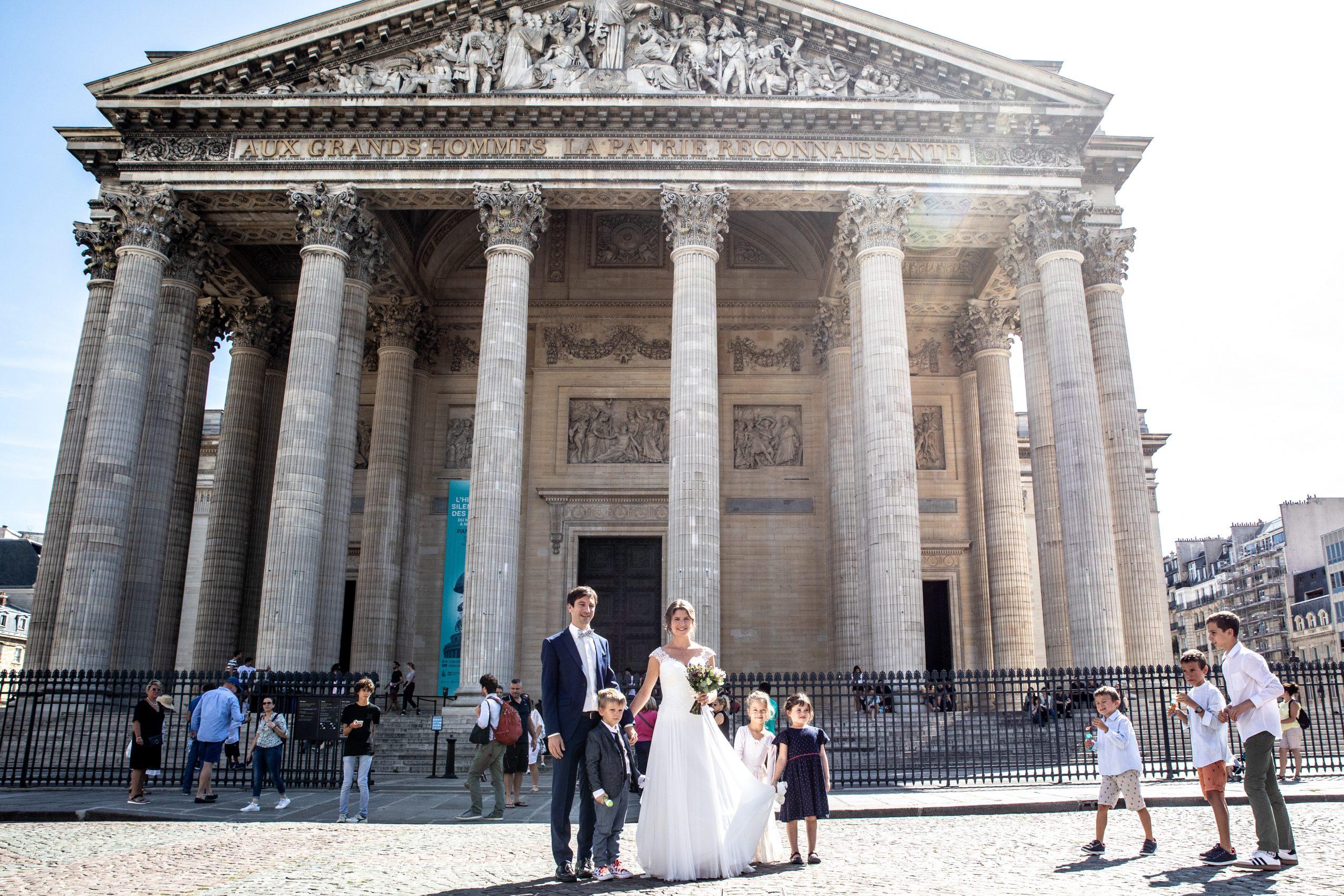 Photographie de mariage Paris