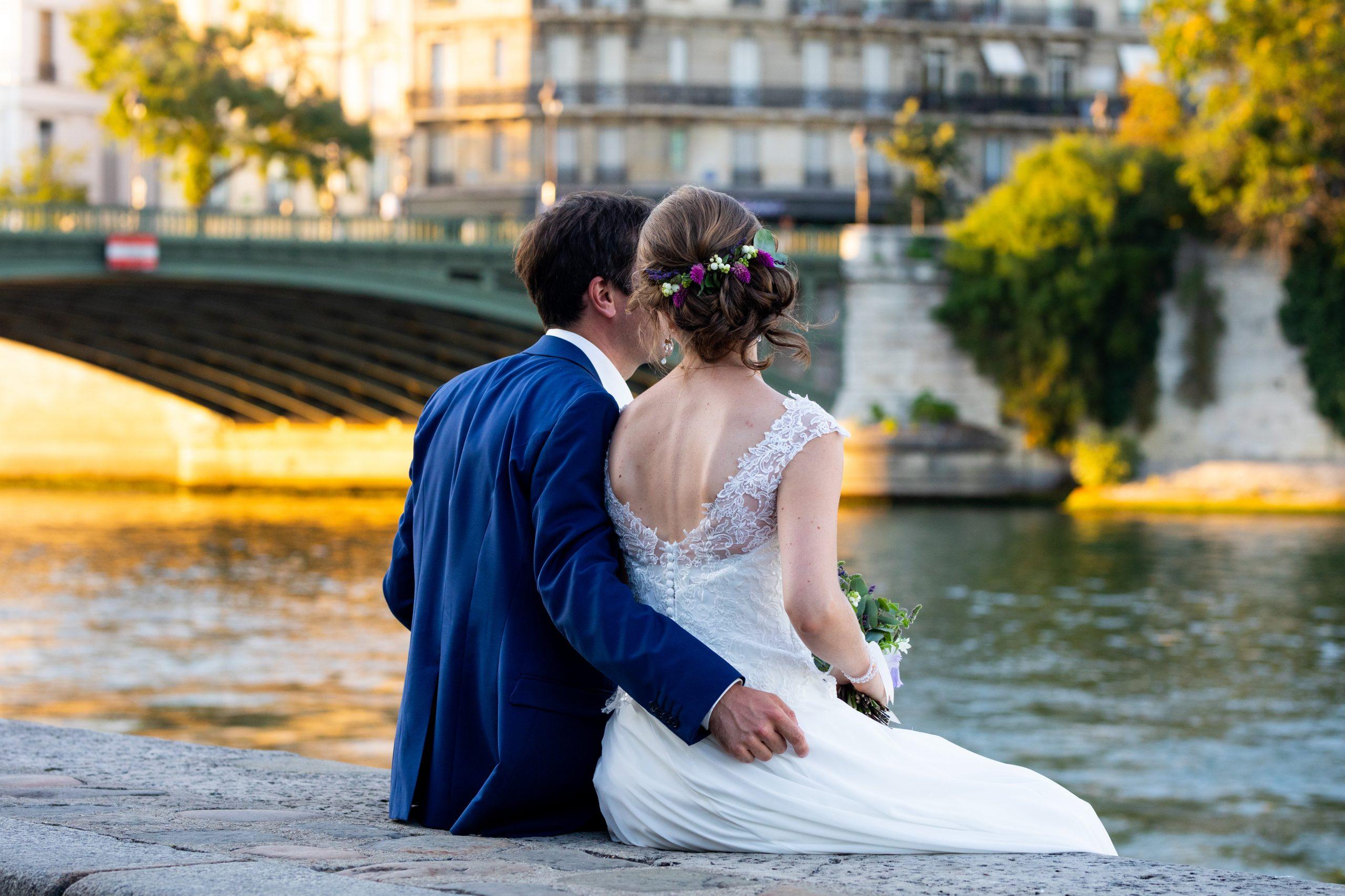 Photographe mariage Jardin des plantes Paris