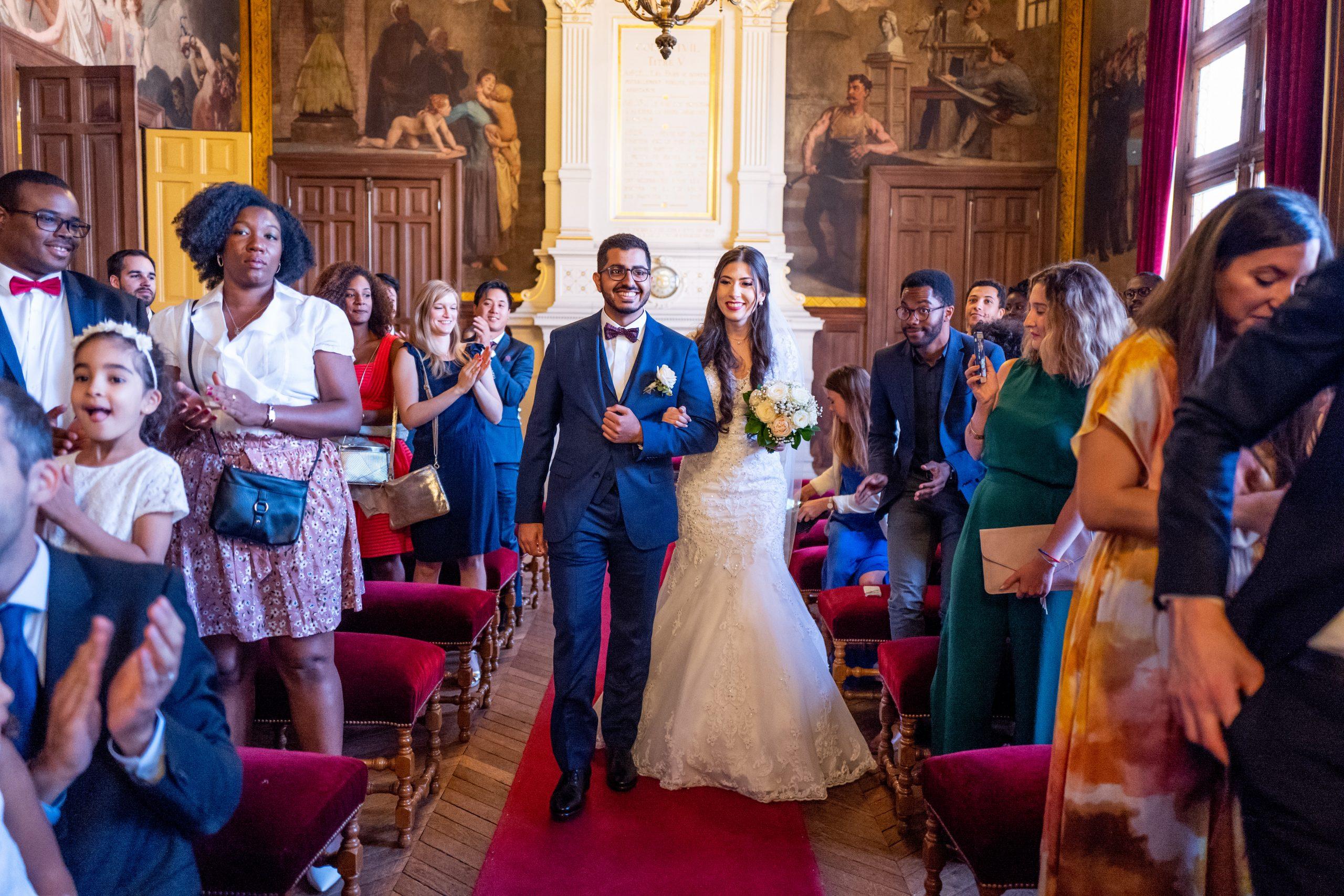 Photographe de mariage Mairie 20ème arrondissement Paris