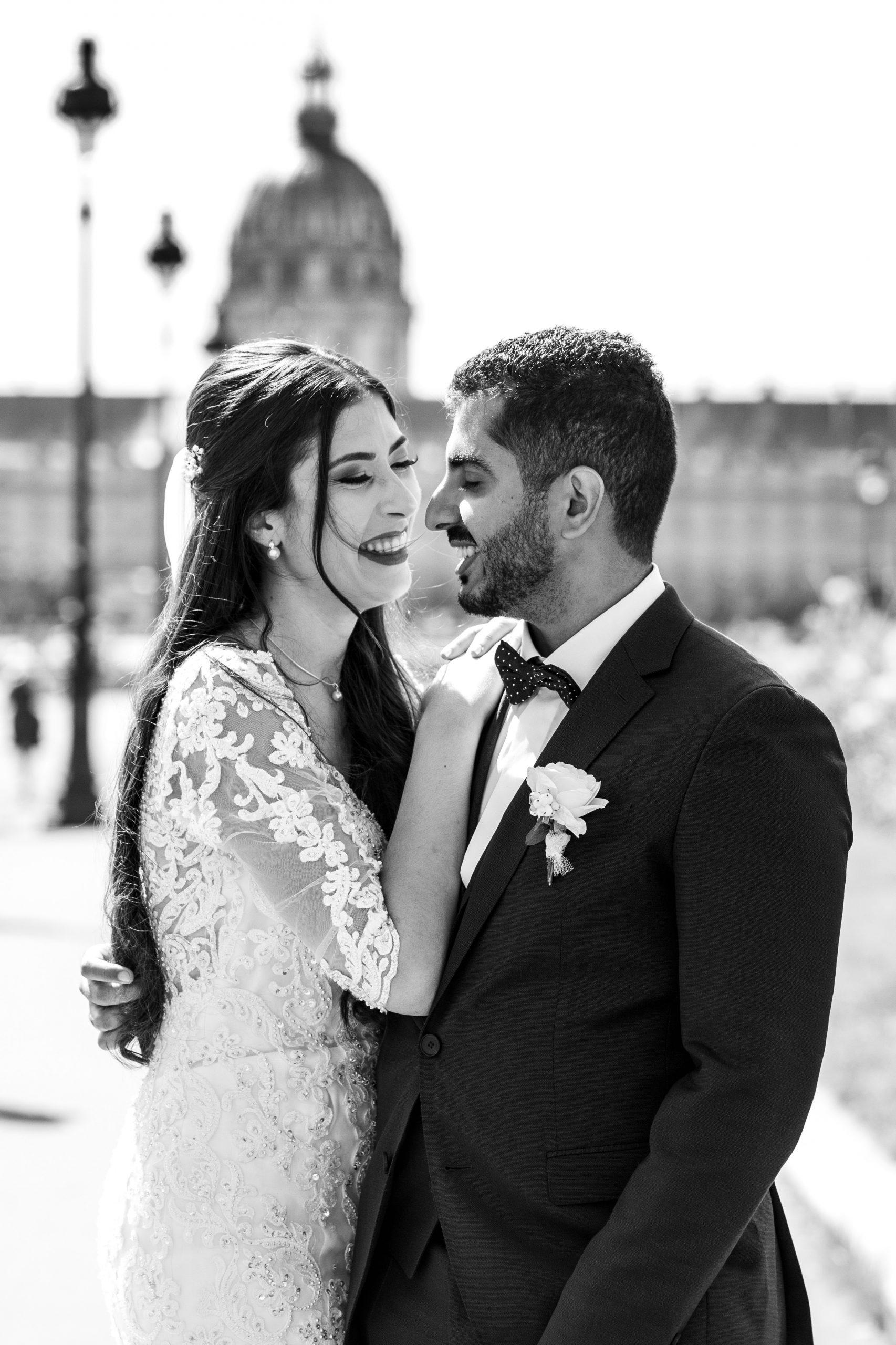 Photographe mariage Pont Alexandre III Paris