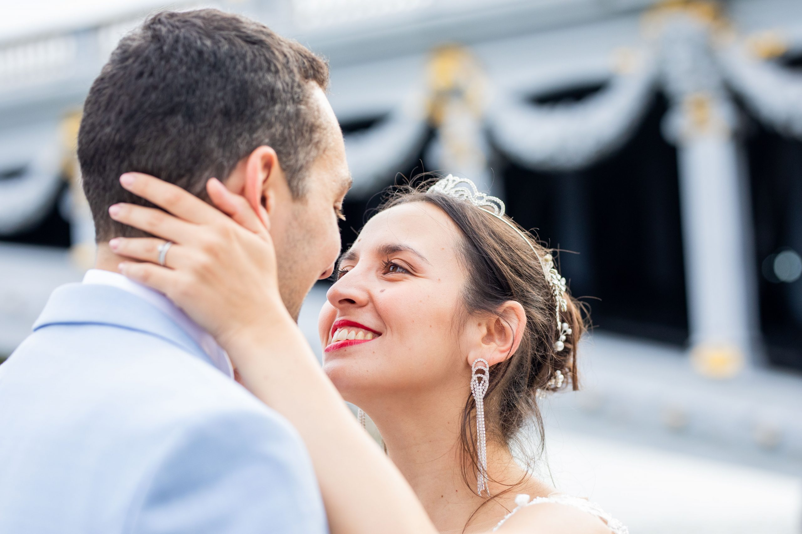 Photographe mariage - Paris - Montpellier - Nice - séance couple Parc Monceau - Photographe émotion Paris